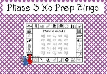 Phase 3 - No Prep Bingo