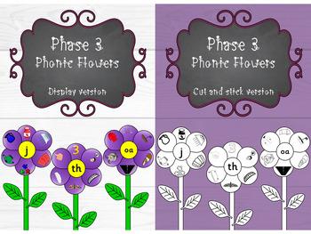 Phase 3 - Phonic Flowers