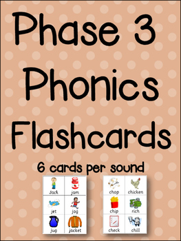 Phonics Center - Flashcards & Sound Sorting Activity - 162 NO PREP cards!