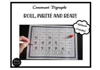 Phase 3 Phonics Roll, Write, Read Activity