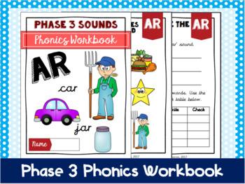 Phase 3 Phonics Workbook - 'ar' sound
