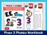 Phase 3 Phonics Workbook - 'ee' sound