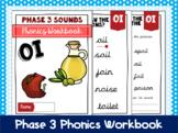 Phase 3 Phonics Workbook - 'oi' sound