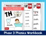 Phase 3 Phonics Workbook - 'th' sound