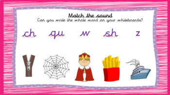 Phase 3 Phonics powerpoint