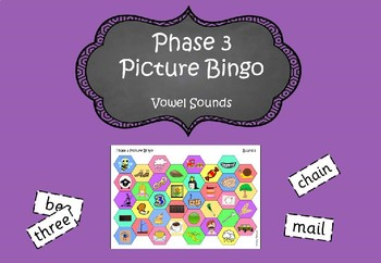 Phase 3 - Picture Bingo