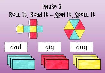 Phase 3 - Roll It Read It - Spin It Spell It