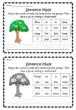 Phase 3 Sentence Mazes