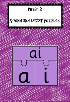 Phase 3 Sound and Letters Puzzles