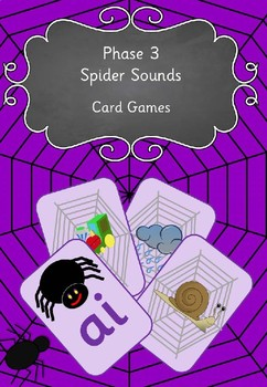 Phase 3 Spider Sounds Card Games