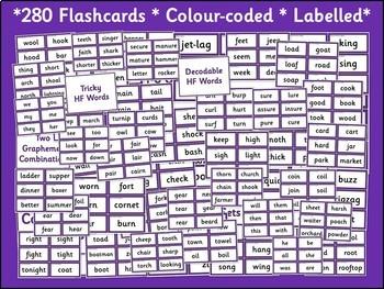 Phase 3 Word Flashcards {UK Teaching Resources}