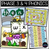 Phase 3 and 4 High Frequency Word Games Bundle (Spring/Sum