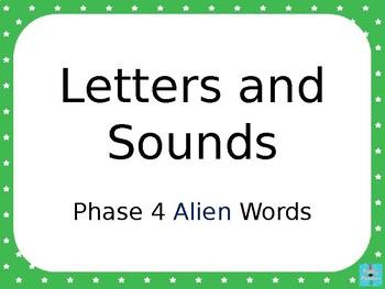 Phase 4 - Alien Words