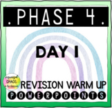 Letters and Sounds Phase 4 Phonics Revision Warm Up Day 1