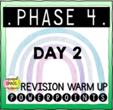 Letters and Sounds Phase 4 Phonics Revision Warm Up Day 2