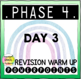 Letters and Sounds Phase 4 Phonics Revision Warm Up Day 3