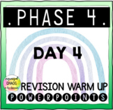 Letters and Sounds Phase 4 Phonics Revision Warm Up Day 4