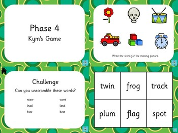 Phase 4 - Kym's Game
