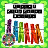 Phase 4 Letters & Sounds Phonics Clip Cards Bundle