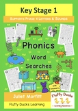 Phase 4 Letters and Sounds Phonics Word Searches 36 digraphs and trigraphs