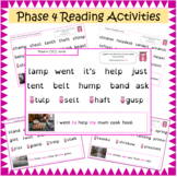 Phase 4 Letters and Sounds Segmenting and Blending Reading Activities