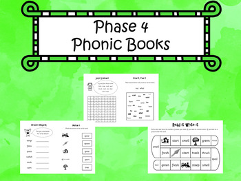 Phase 4 - Phonic Books