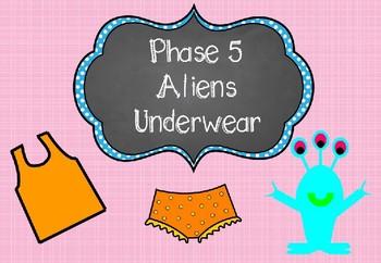Phase 5 - Aliens Underwear