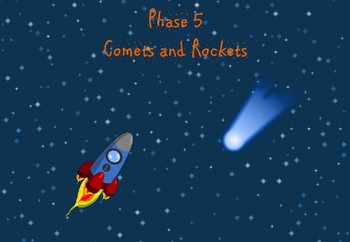 Phase 5 - Comets and Rockets (Alien Words)