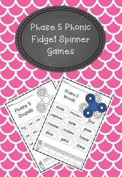 Phase 5 - Fidget Spinner Games