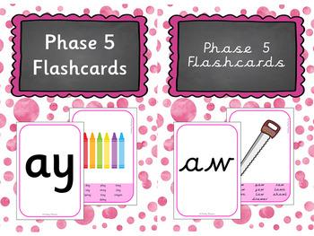 Phase 5 Flashacrds