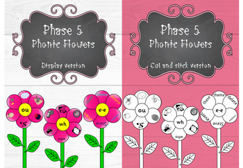 Phase 5 - Phonic Flowers