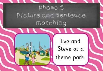 Phase 5 - Picture Sentence Matching
