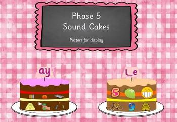 Phase 5 Sound Cakes