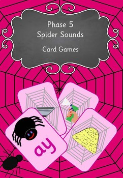 Phase 5 Spider Sounds Card Games