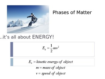 Phase Change & Gas Law Presentation