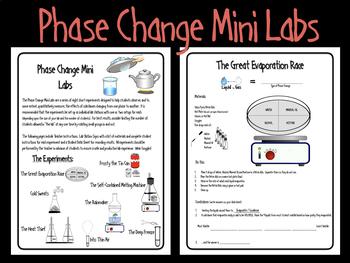 Phase Change Mini Labs
