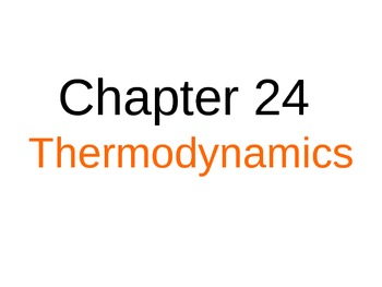 Phase Change and Thermodynamics