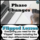 Phase Changes Flipped lesson | flipped classroom | distanc