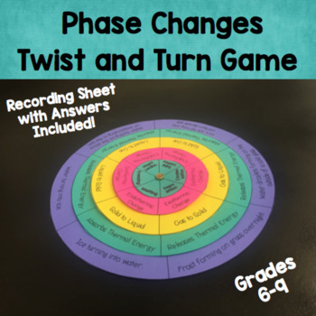 Phase Changes Twist and Turn Game