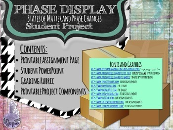 Phase Display States of Matter Student Project