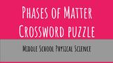 Phase of Matter Crossword