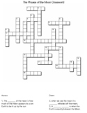 Phases Of The Moon crossword.