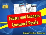 Phases and Changes Crossword