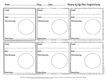 Moon Phases Project : Phases of Life