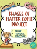 Phases of Matter Comic Project- Matter Unit