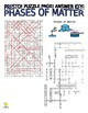 Phases of Matter Puzzle Page (Wordsearch and Criss-Cross)