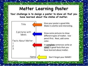 Stages of Matter Unit - Marvelous Matter - Grades 1-3 Solids, Liquids, and Gases