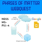 Phases of Matter Webquest NGSS MS-PS1-4