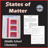 Phases of Matter: Melting Ice Activity States of Matter NGSS MS-PS1-4
