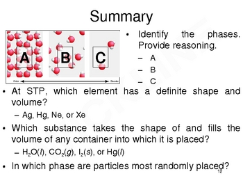 Phases of Matter for Chemistry